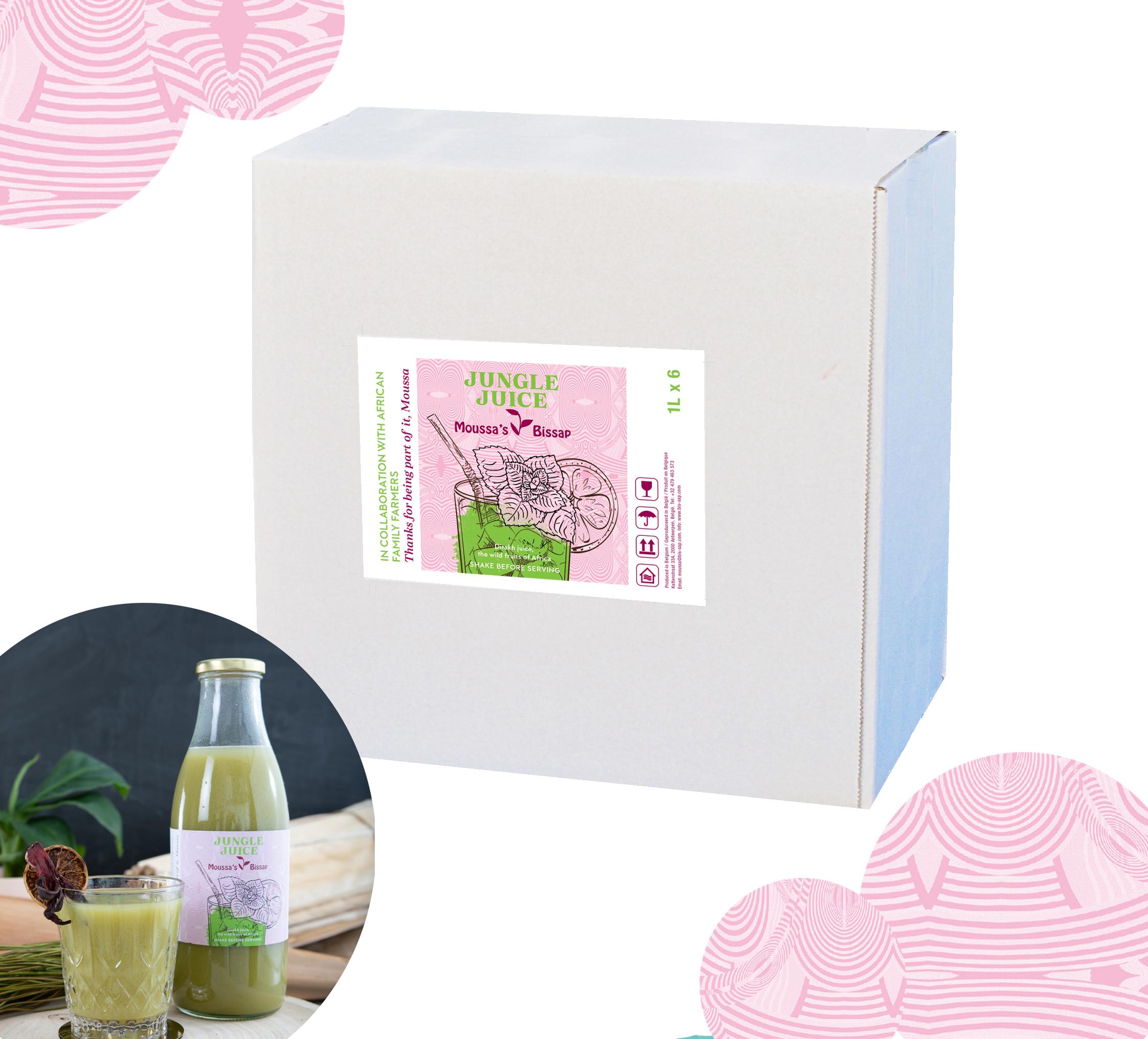 jungle juice box 1L
