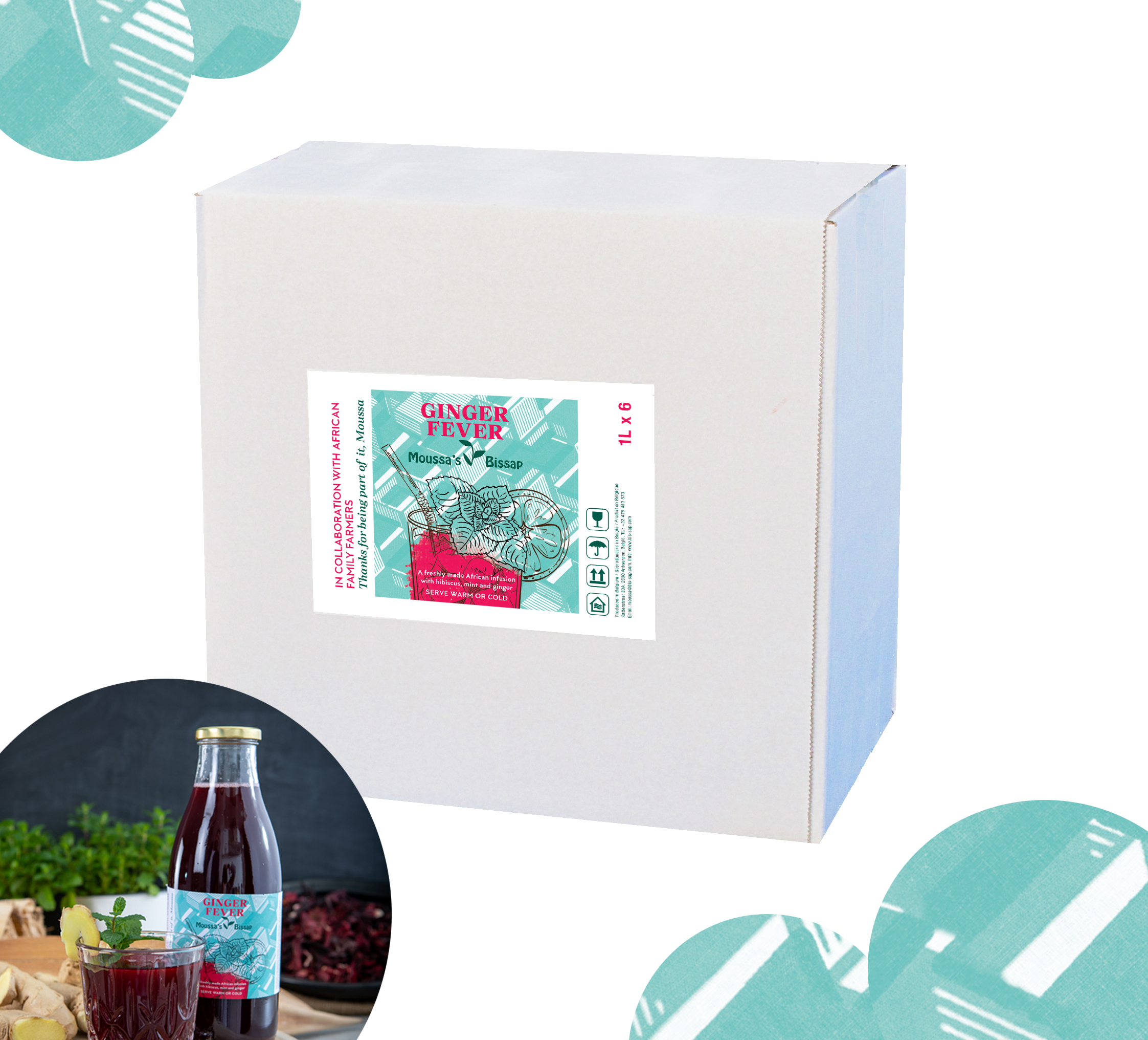 ginger box 1L